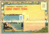 """Souvenir Folder of Corpus Christi, Texas"""